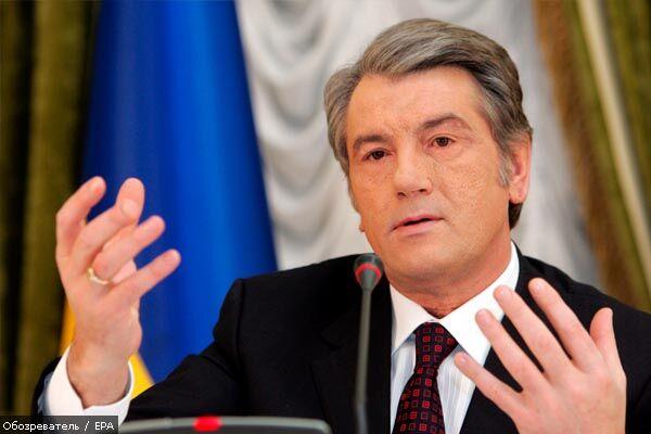 Ющенко хоче за тиждень повернути прихильність МВФ