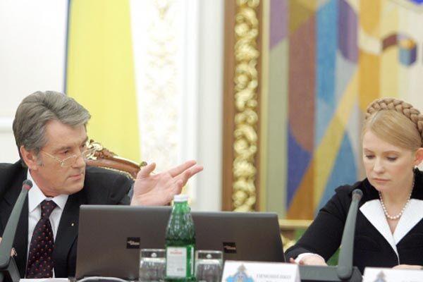 Ющенко, Тимошенко і Литвин забудуть, що вони політики