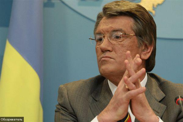 """Ющенко """"навіки подав руку дружби і порозуміння"""" Качинському"""