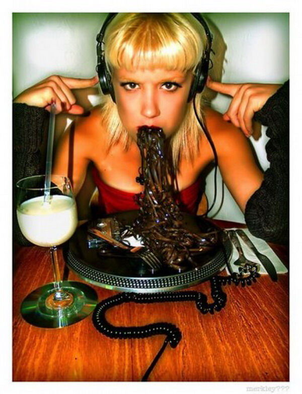 Блондинки и еда