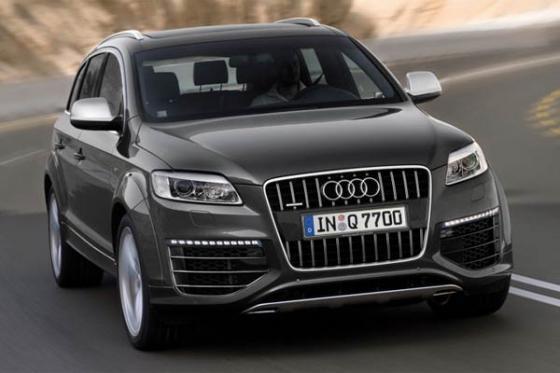 Audi готовит новое поколение внедорожника Q7