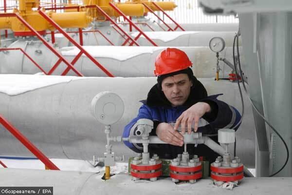 """""""Газпром"""" жалуется на новый режим работы ГТС Украины"""