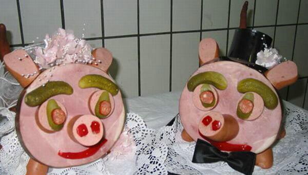 Сосисочно-колбасное творчество