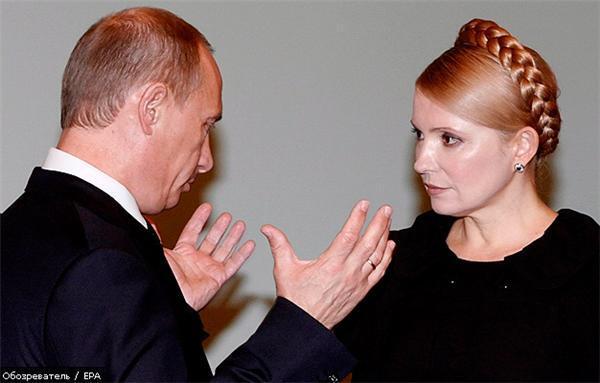 Тимошенко пробилася на прийом до Путіна