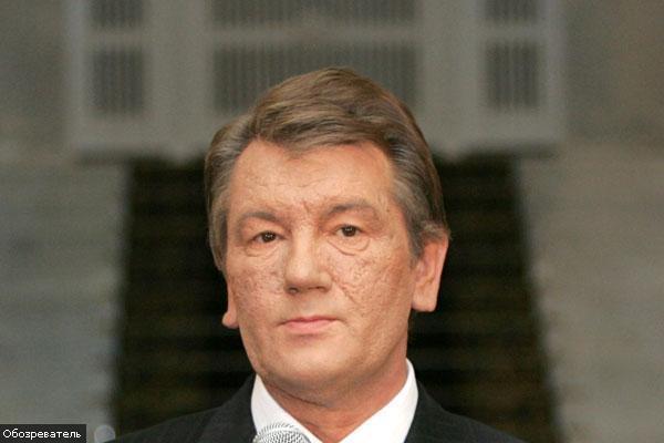 Ющенко повертається з Баку
