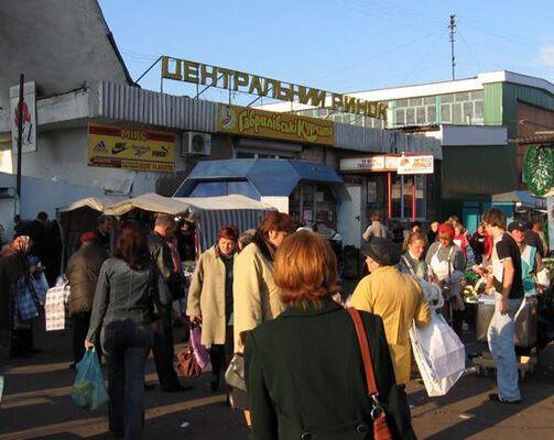 На Центральному ринку Чернігова була пожежа