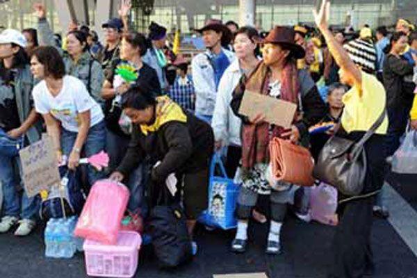 Тайська опозиція згортається в Бангкоку