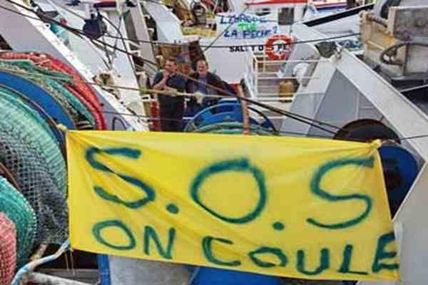 Французькі рибалки перекрили Ла-Манш