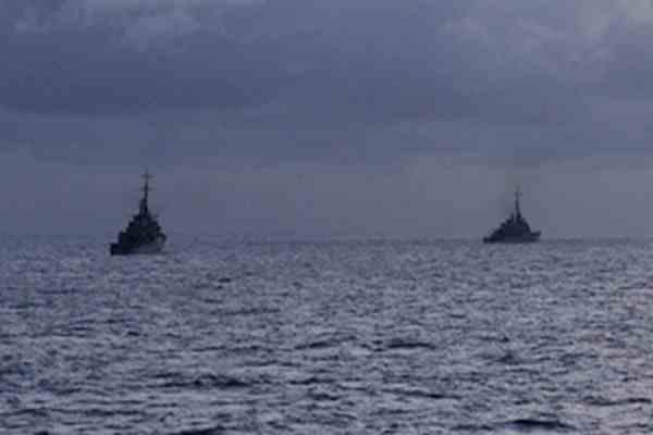 Біля східного узбережжя Китаю перекинулися п'ять суден