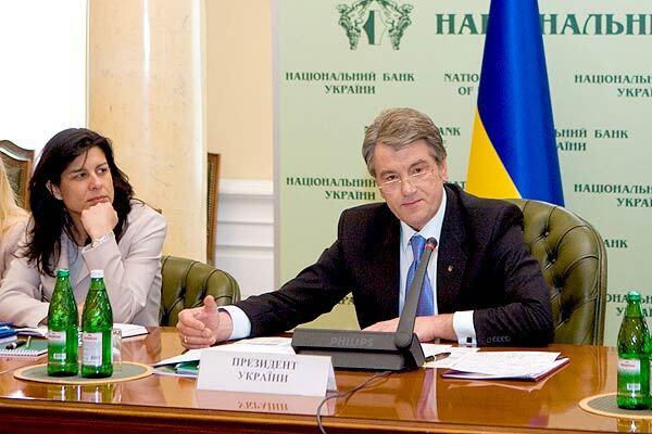 Ющенко запідозрив представника МВФ в крадіжці