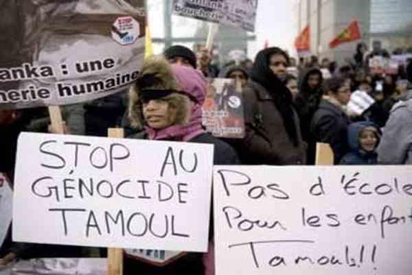 """Дві сотні прихильників тамільських """"тигрів"""" затримані в Парижі"""