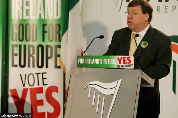 В Ірландії розігнали держміністрів