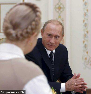 До зустрічі Тимошенко і Путіна залишилося менше тижня