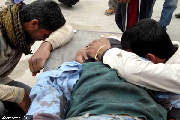 Теракти в Іраку, 75 жертв