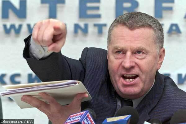 Жириновский предлагает легализировать «русский мат»