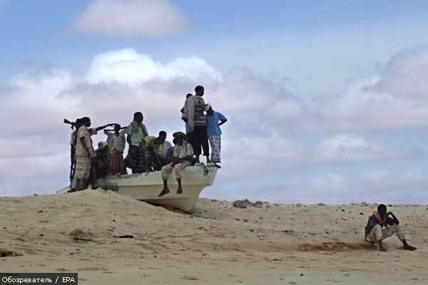 ВМС Ємену звільнили 3 захоплених піратами судна