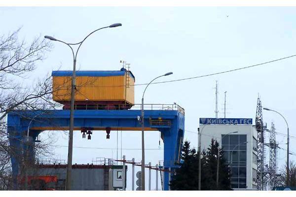 На Київській ГЕС знайдено міну