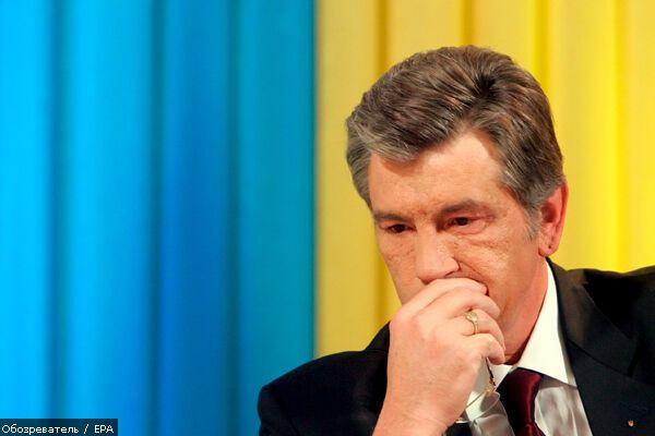 Ющенко відкрив у Будапешті пам'ятний знак жертвам Голодомору