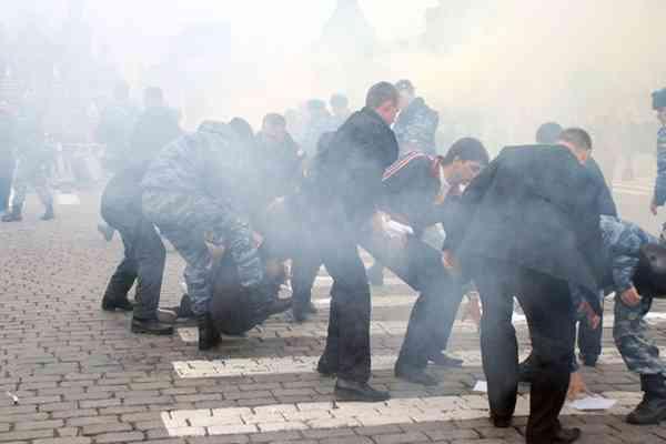 У Римі проходить антикризова демонстрація