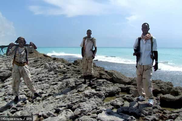Сомалійські пірати знову захопили судно з українцями