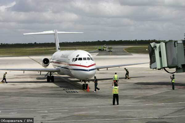 Митники в Борисполі конфіскували літак