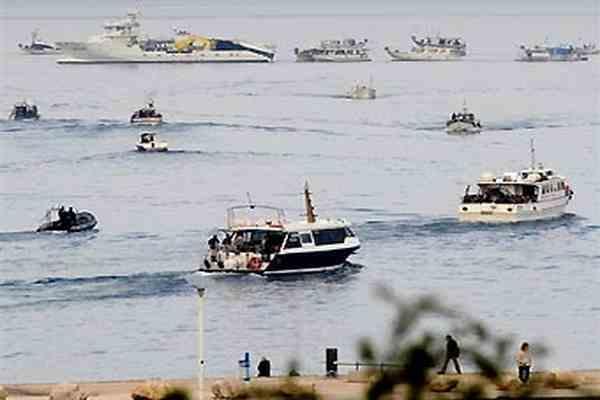 Французькі рибалки заблокували порти на знак протесту