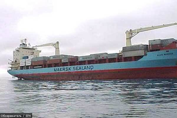 У Криму дрейфує і погано пахне судно