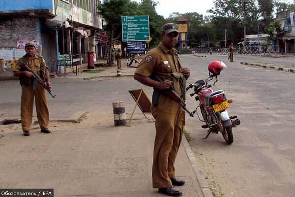 Военные Шри-Ланки расстреляли около 100 тамильских детей