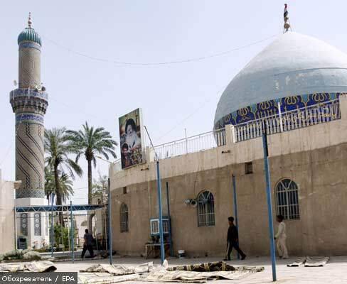 В Могадишо снаряд попал в мечеть, есть жертвы