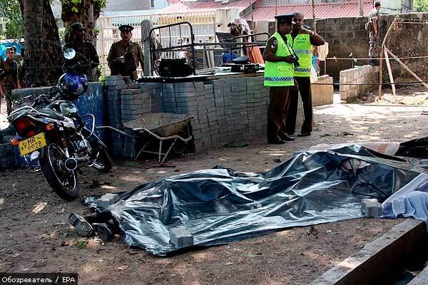 Міна влучила в будівлю лікарні у Шрі-Ланці, десятки вбитих