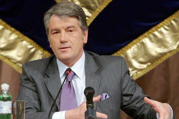 Ющенко уверен, что шатания Украины не влияют на ЕС