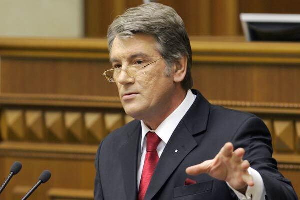 Ющенко поручил Кабмину приближать Украину к НАТО