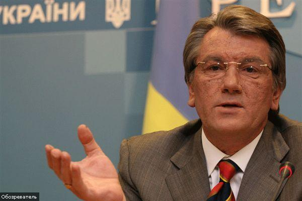 "Ющенко ""нагрузит"" Голодомором президента Финляндии"