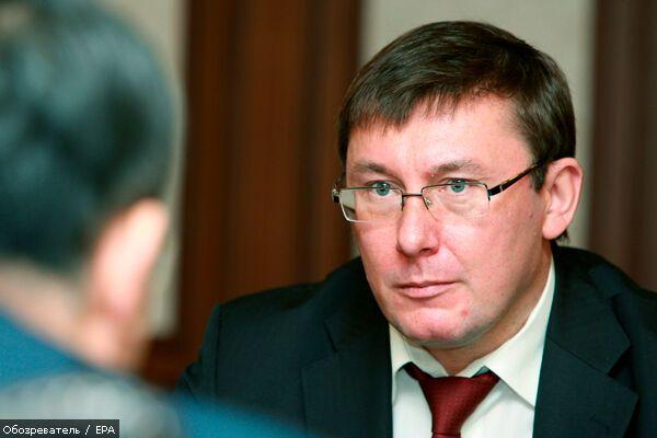 Немецкая прокуратура может поделиться компроматом на Луценко