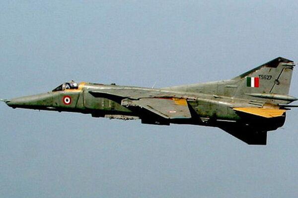 В Индии упал МиГ-27