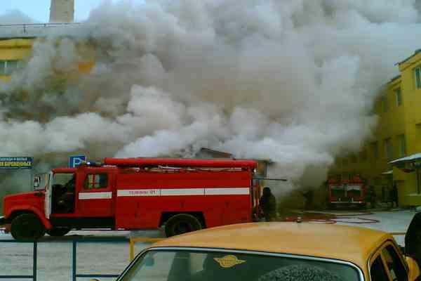 Во Львове загорелся центральный рынок