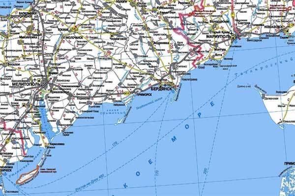 В Азовском море спасены трое рыбаков