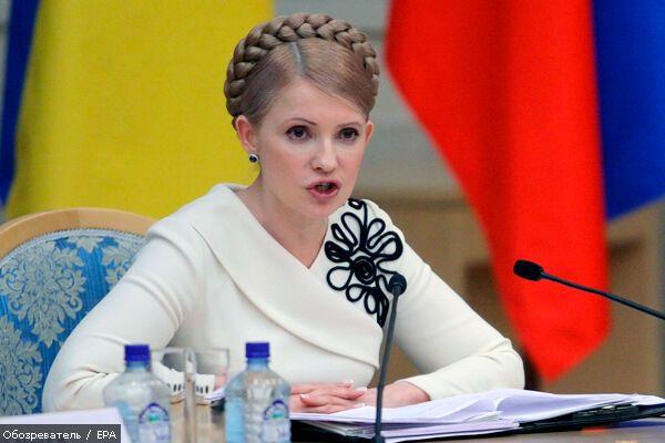 Тимошенко требует от Ющенко голову Еханурова