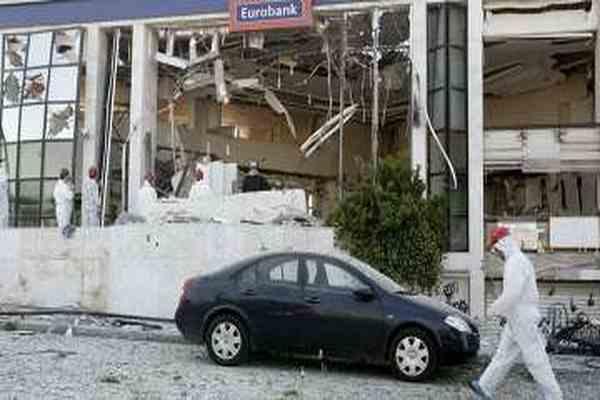 В центре Афин сработало взрывное устройство