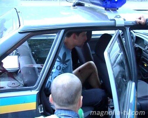 """Водитель-мажор нарвался на пулю и попал в """"обезьянник""""(ФОТО)"""