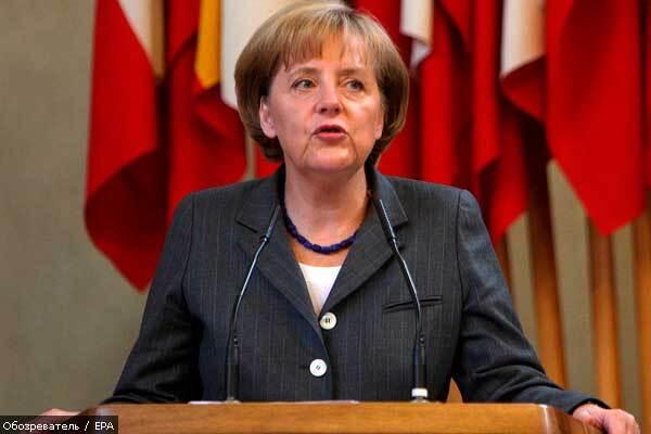 Тимошенко и Меркель отметят годовщину падения коммунизма