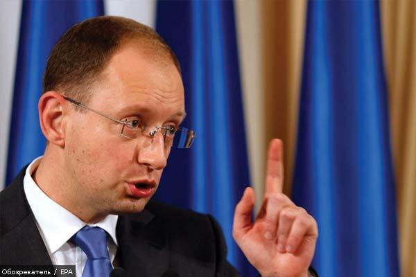 Яценюк официально вступил в борьбу за кресло Ющенко