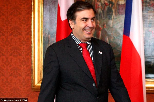 Акции протеста в Грузии улучшили рейтинг Саакашвили