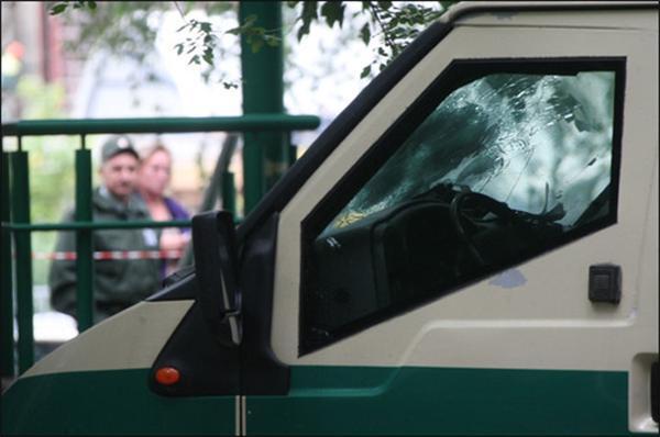 Нападение на инкассаторов закончилось гибелью бандита