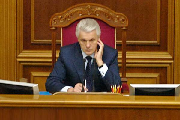 Литвин обвинил БЮТ в политическом рейдерстве