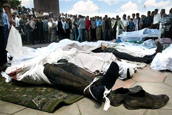 Взрыв в Андижане, есть жертвы