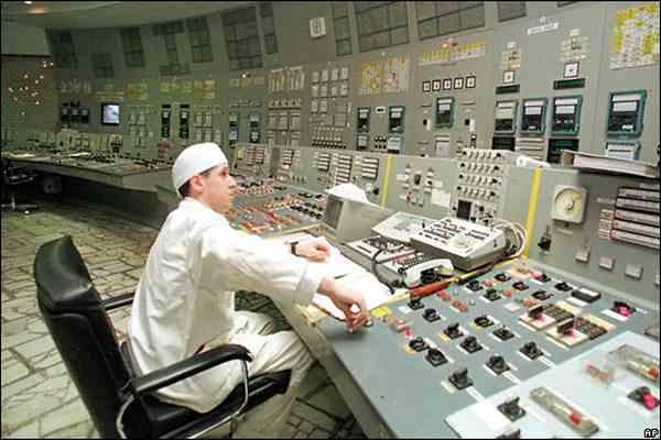 Четыре сотрудника АЭС получили дозу облучения