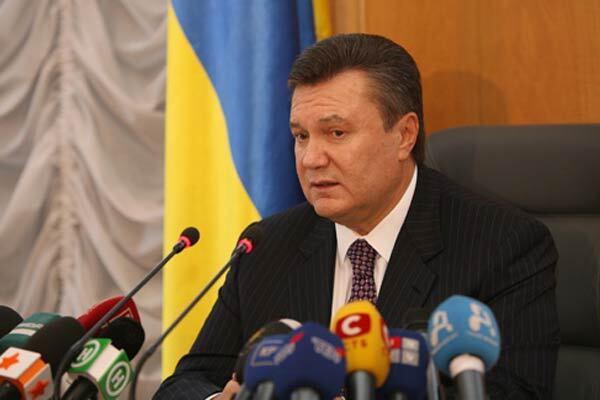 Янукович: переговори про ПРіБЮТ були зупинені рік тому