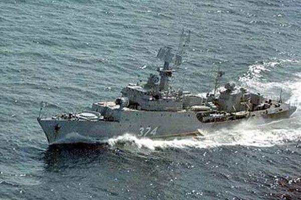 Російський корабель обстріляв мирний селище