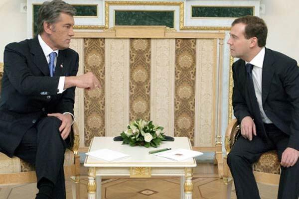 Ющенко не хочет говорить с Россией о зерне